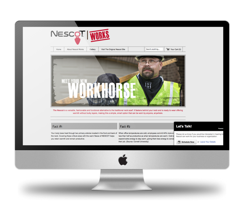 Nescot Works Home Page