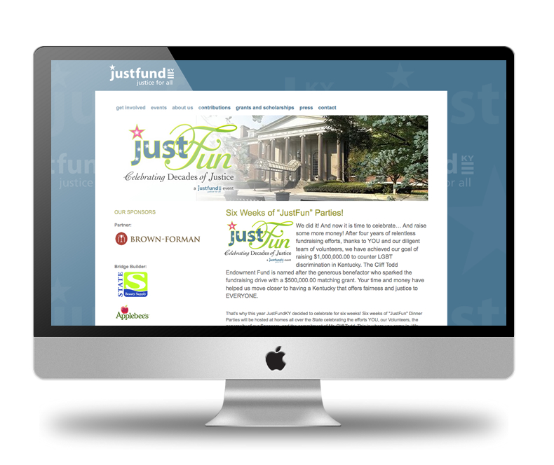 JustFundKY Event Page